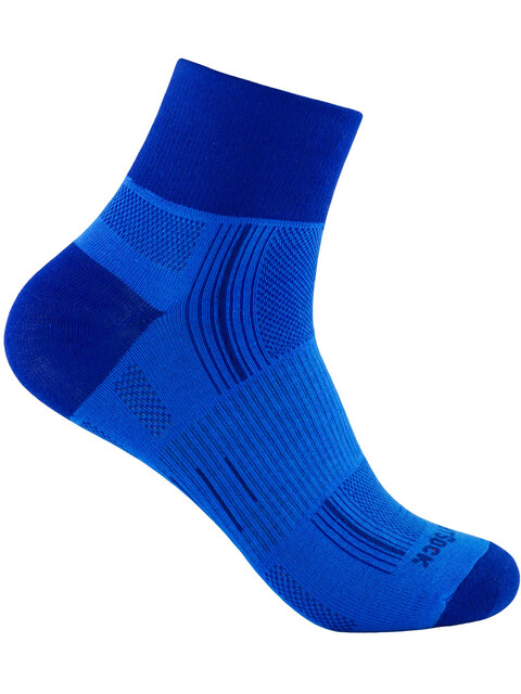Wrightsock Stride Quarter Strømper blå